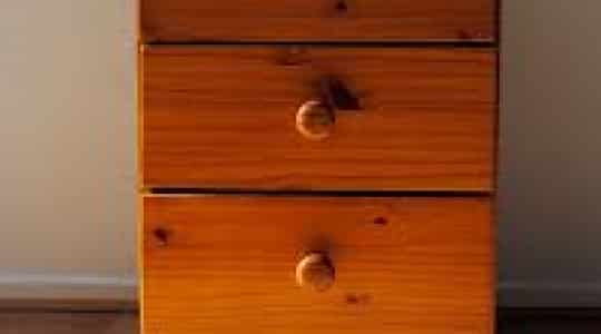 Give an Old Wood Dresser a New Look