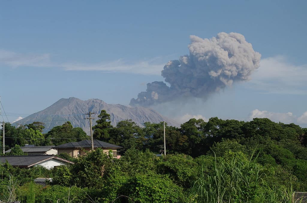 Authorities warn of increased volcanic activity near nuclear plant