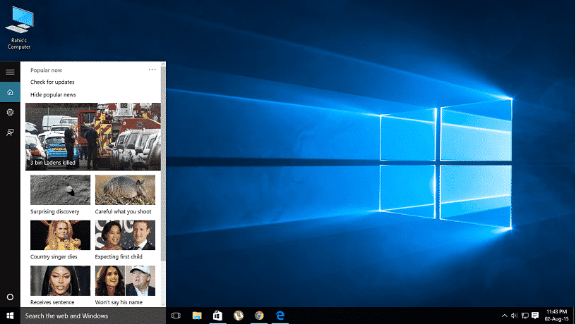 Microsoft updates Windows 10 ahead of the final release and 10 new exciting features in windows 10