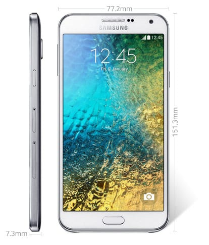 Reasons Why One Should Buy Samsung Galaxy E7